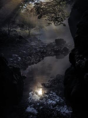 クリックすると拡大できます→◎円原川の朝景色